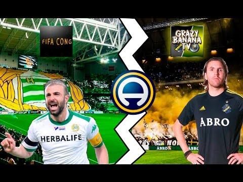 Möter GrazyBananaTv?! Hammarby vs Aik?! Fifa 17 på svenskaиз YouTube · Длительность: 8 мин38 с