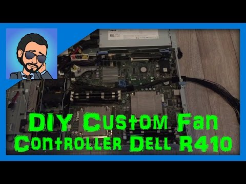 DIY Custom Fan Controller Dell PowerEdge R410 (Or Any Other PC/Server)