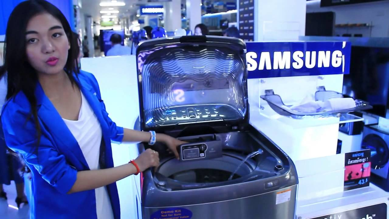 Samsung Activ Dual Wash Youtube