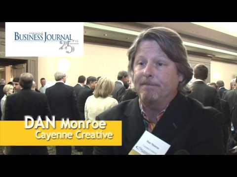 Birmingham Business Journal BBJ Pacesetters 2009 Awards Cayenne Creative Advertising Dan Monroe