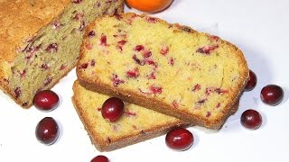 Cranberry Orange Loaf Cake By Pachakalokam