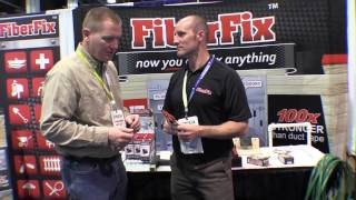 Fiber Fix Repair Material Makes is Stronger than new: By The Weekend Handyman