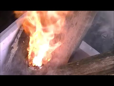 Potassium Permanganate + Glycerin = FIRE (How To Make A Chemical Volcano)