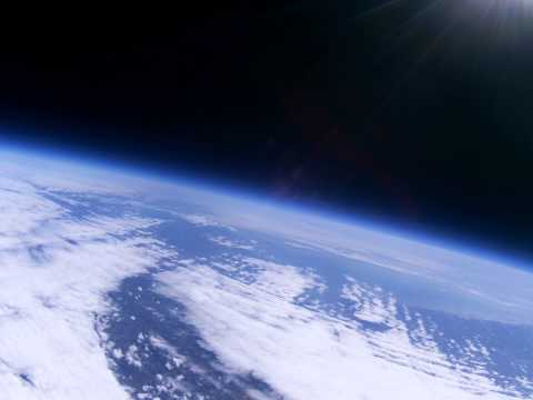 Near Space Balloon - Image Capture