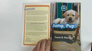 Jump, Pup!/ 내셔널 지오그래픽 키즈 원서 읽기