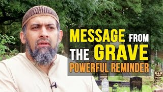 MUST SEE!!! - Message From The GRAVE - POWERFUL REMINDER - Alyas Karmani