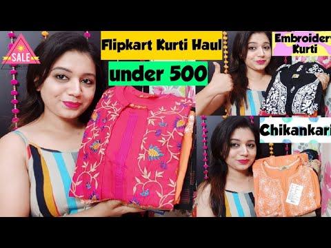 Flipkart Kurti Haul💞Flipkart Online Shopping Haul💞Latest ...