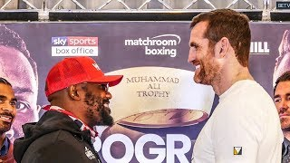 Dereck Chisora vs David Price CALM BEFORE THE STORM | Heavyweight faceoff