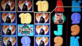 Wolf run slot machine re trigger spin