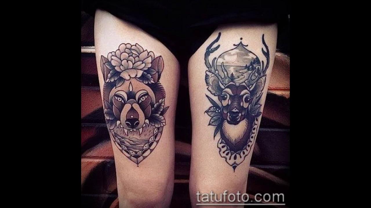 тату на ляхе для девочек самые нежные и красивые татуировки для