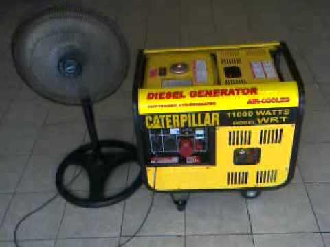 Generador de luz caterpillar 11 000 wats diesel youtube - Generador de luz ...