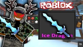 """ROBLOX - CRAFTING MY FIRST GODLY KNIFE!!! """"MURDER MYSTERY 2"""""""