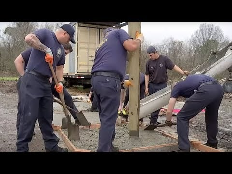 Trained Heroes Stuck Chopping Wood, Pouring Concrete