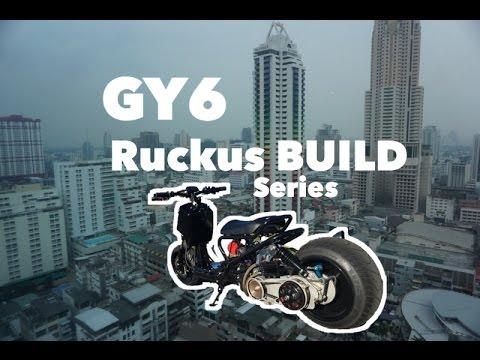 GY6 RUCKUS BUILD