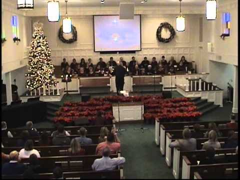 silent night holy night First Baptist Church 12/16/12