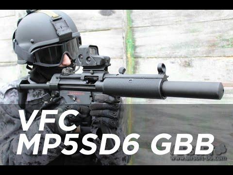 VFC MP5SD3 / MP5SD6 GBB UMAREX airsoftBB