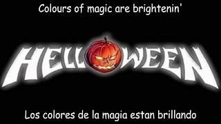 Helloween -  Paint a new World   Lyrics + Sub Español