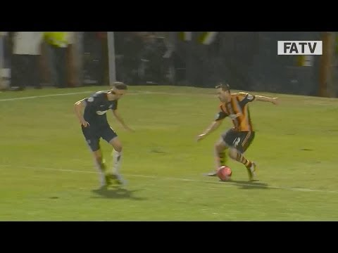 Matty Fryatt scores a beauty for Hull City vs Southend United, FA Cup Fourth Round