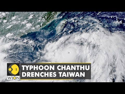 Typhoon Chanthu brings heavy rainfall to Taiwan, over 100 flights cancelled | WION Climate Tracker