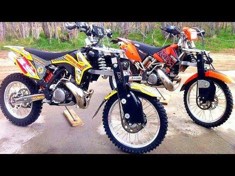 😲 Мотоциклы 2х2 ! Устройство Полного Привода 💪!