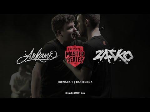 ARKANO vs ZASKO Oficial FMS Barcelona JORNADA 1