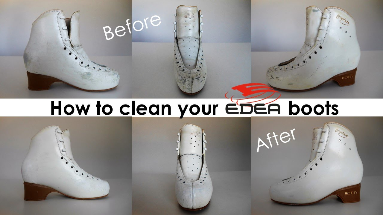 how to clean edea skating boots leather ones ice fly