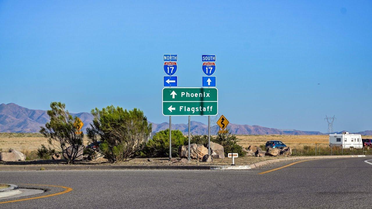 Phoenix To Flagstaff >> 16 37 Flagstaff To Phoenix I 17 South In Az Youtube