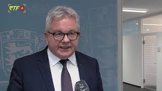 Tübinger Landrat Walter und Justizminister Wolf zur US-Wahl
