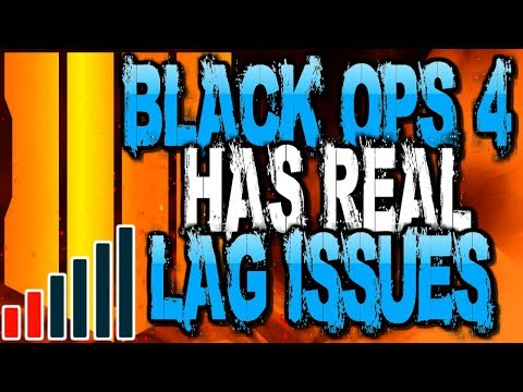 How Are People Lagging In Black Ops 4 It's 2018!! | BO4 Lag