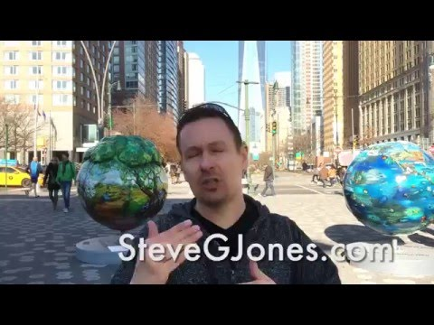 Holiday Insights at Battery Park, NYC - Dr. Steve G. Jones