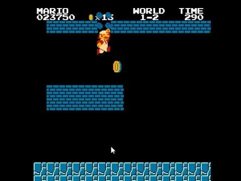 Super Mario Brothers unlimited lives cheat