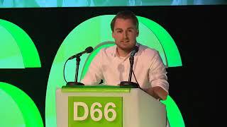 Baixar Voorzitter Dennis van Driel D66 congres 108