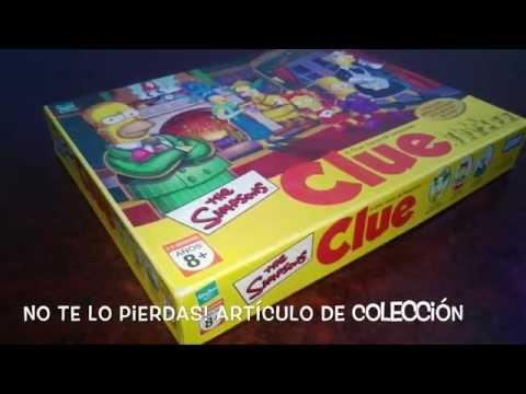 """Juego De Mesa Clue Edición """"Los Simpsons"""""""