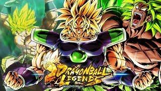 Dragon Ball Legends - Dragon Ball Super Broly & SSJ Full Power Broly Gameplay (HD)