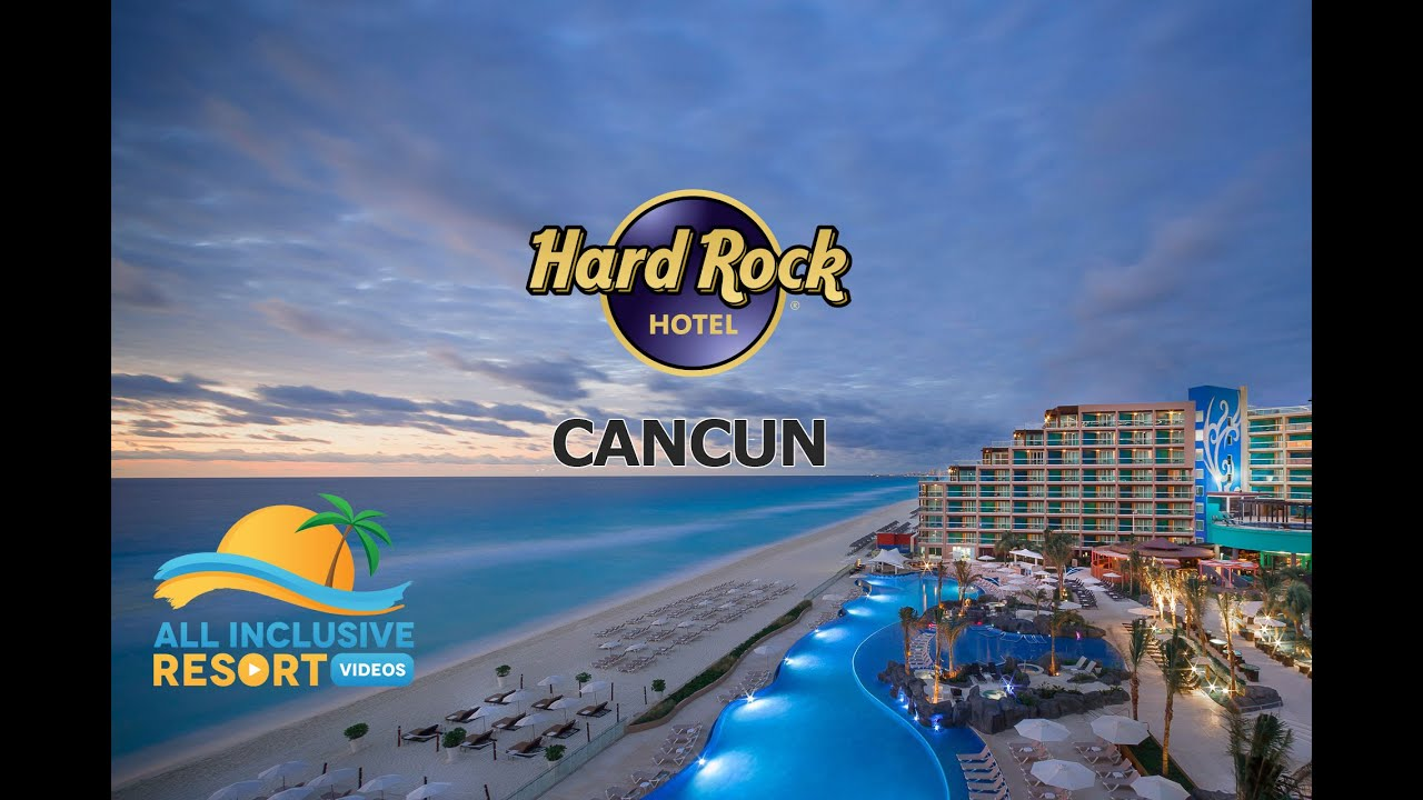 hard rock hotel cancun all-inclusive family resort overview - youtube