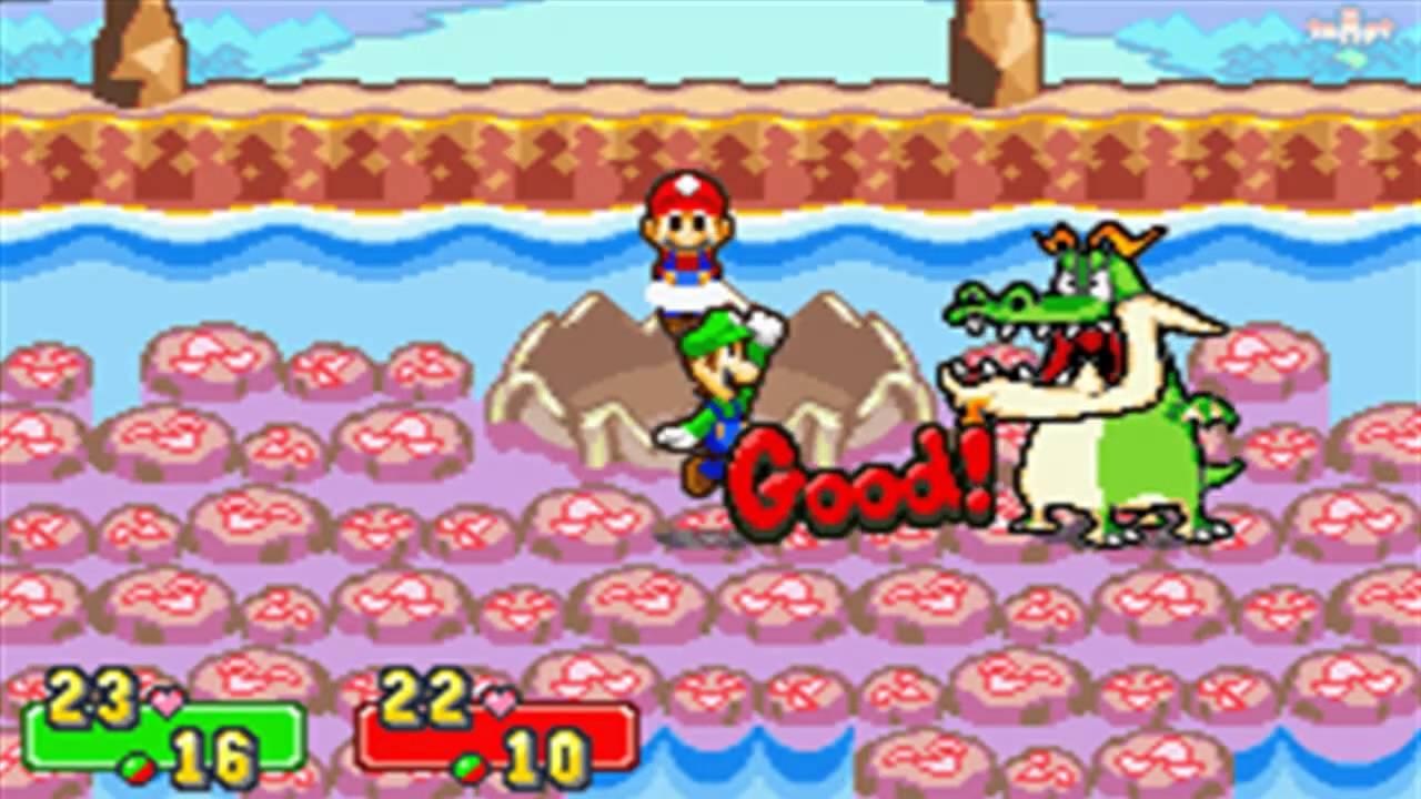 Mario Luigi Superstar Saga Boss 4 Dragohoho Youtube