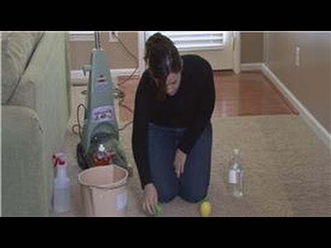 cleaning tips removing rust stains from carpeting youtube