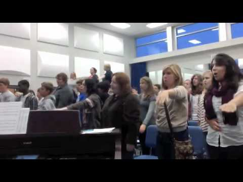 Concert Choir Warm-Up