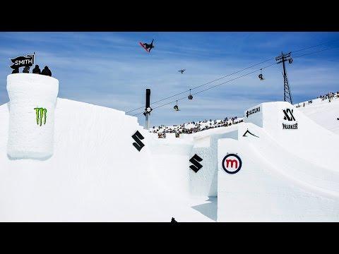Big Air Ski & Snowboard Contest Action | Suzuki Nine Knights