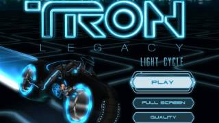 Tron Legacy Light Cycle Game Music : Light Cycle Arena