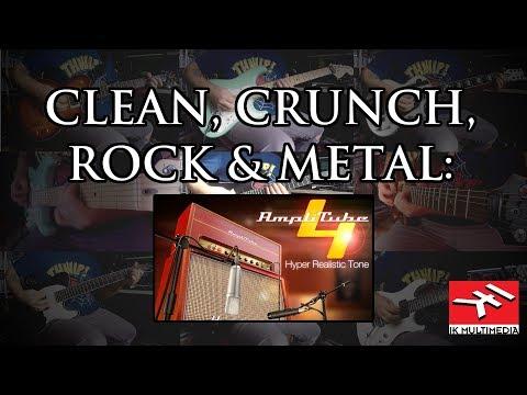 Clean, crunch, rock & metal: Amplitube 4