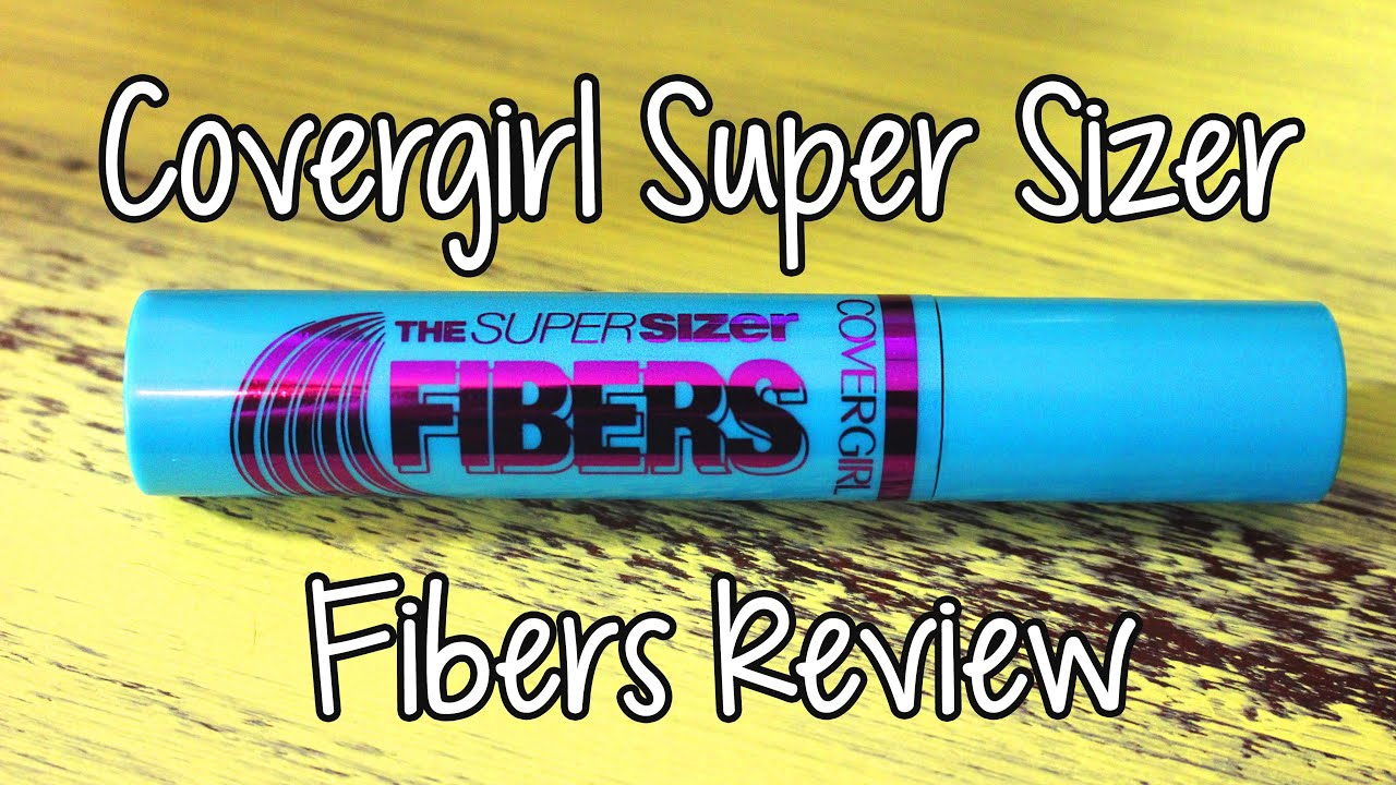 ccbc70f7142 Covergirl Super Sizer Fibers Mascara Review - YouTube