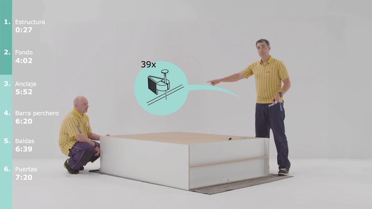 Dombås Montaje Ikea De Del Instrucciones Armario N80kOPXnw