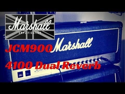 Marshall JCM900 Model 4100 Dual Reverb