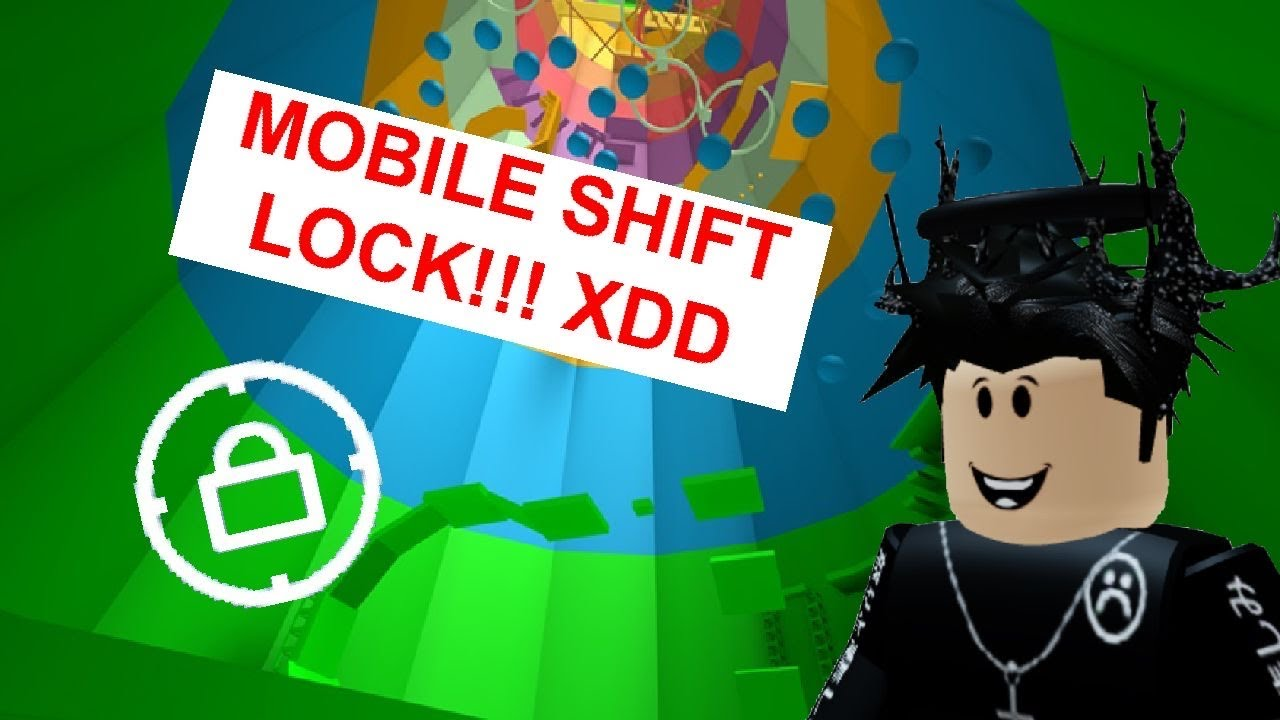 Roblox Tower Of Hell They Added Mobile Shift Lock Finally