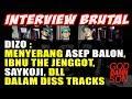 Capture de la vidéo Interview Brutal- Diss Saykoji, Asep Balon, Ibnu The Jenggot, Dll - By Dizo (Eps.1)