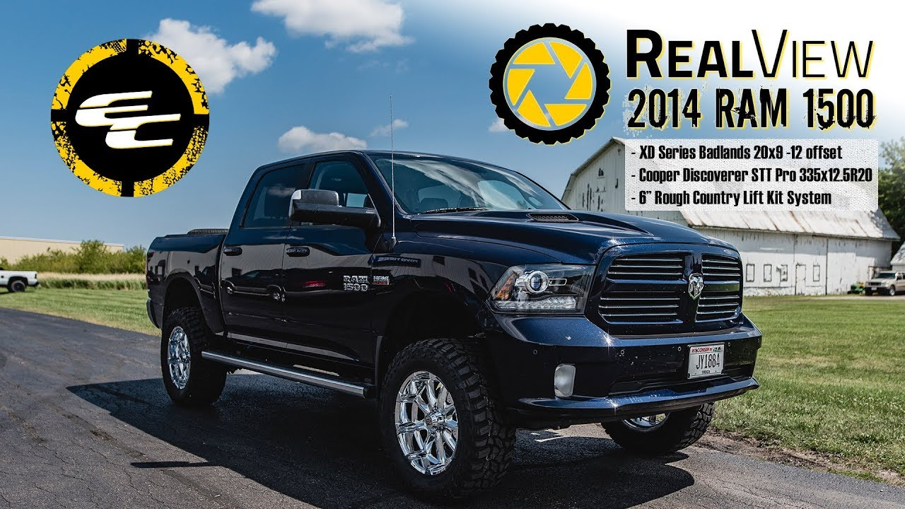 """RealView - Lifted 2014 Ram 1500 w/ 20"""" XD Series Badlands ..."""