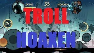Shadow Fight 2: Troll HOAXEN!! (ft. Harrier Hooks)