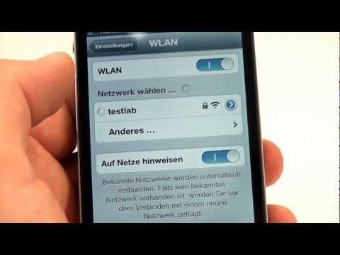WLAN Kennwort Beim IPhone ändern