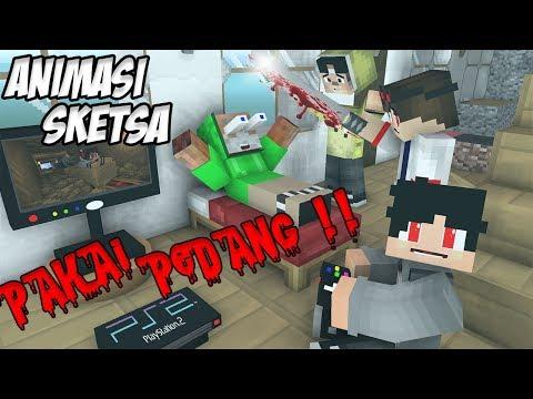 Mitos Tua Baru Sunat - Erpan Bantu Anto Sunat - Keras ( Animasi Minecraft Indonesia )